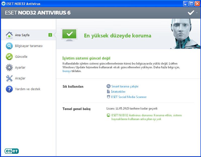 ücretsiz esed antivirüs indir