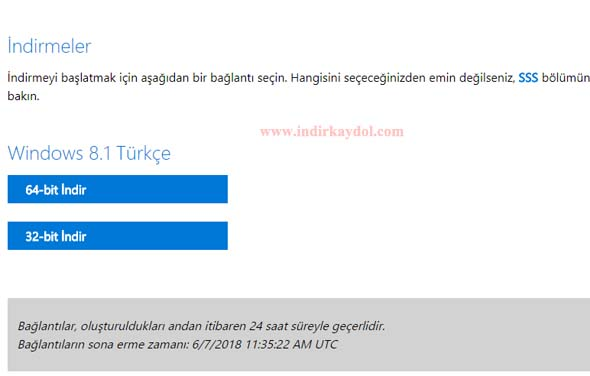 Windows 8.1 64 Bit İndir