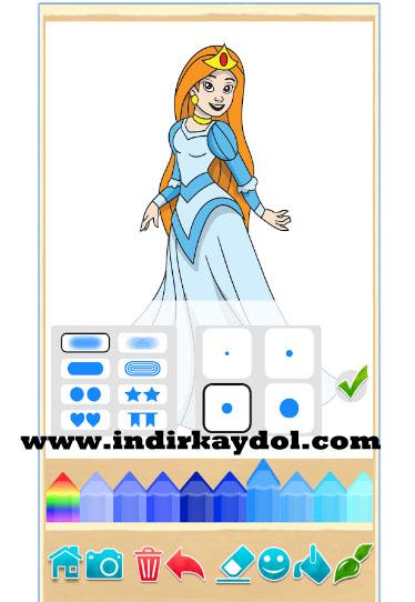 Prenses Boyama Oyunu Indir Kaydol üye Ol Oyna